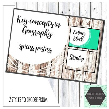 The concepts of Space, Place, Interconnection, Change, Environment, Sustainability and Scale (SPICESS) are fundamental concepts for geography students today. This resource links directly to the Geographical knowledge and understanding strand of the Australian Curriculum.