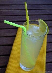 Zitroniger Ananas-Rum Longdrink - Katha-kocht!