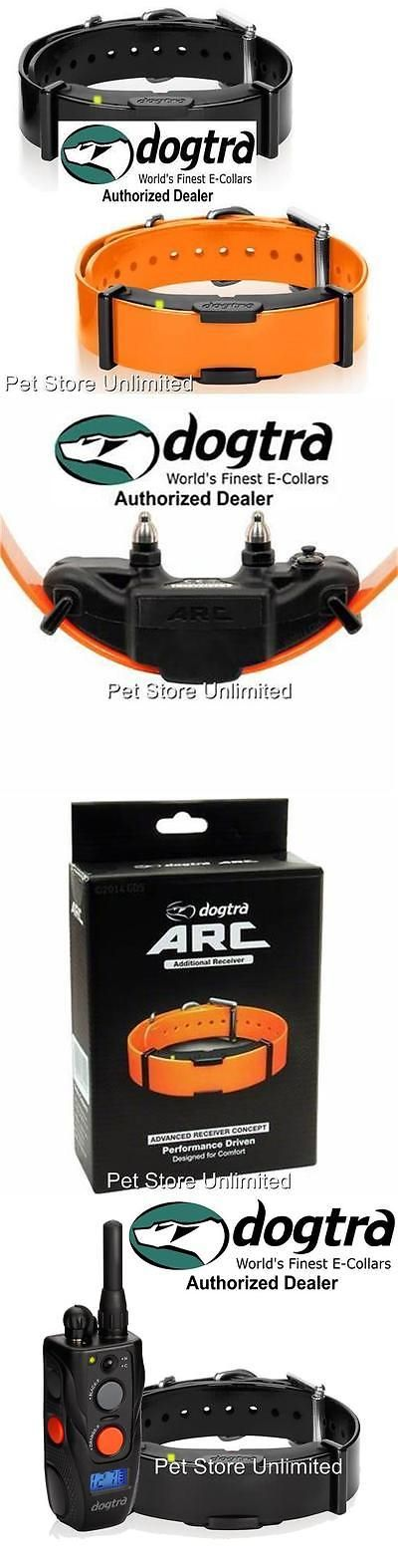 Other Dog Training and Obedience 146245: Dogtra Arc-Rx Extra Collar Orange / Black For Arc Low Profile Remote Trainer BUY IT NOW ONLY: $124.99