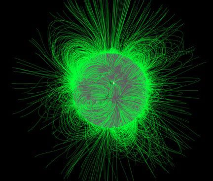 """""""X-Points"""" --Hidden Portals Found Linking Earth to Sun's Magnetic Field"""