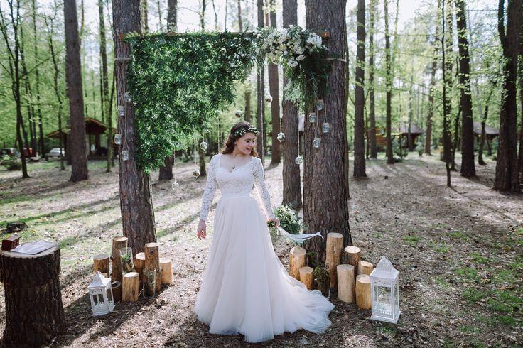 Свадебное платье, невеста, рустик свадьба, платье с рукавом, wedding, wedding dress