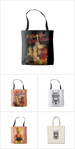 Tote Bags by Andras Balogh