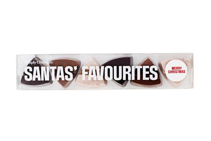 @simplychocolate #madeincopenhagen #Christmas #Chocolate #santasfavourites #design #packaging