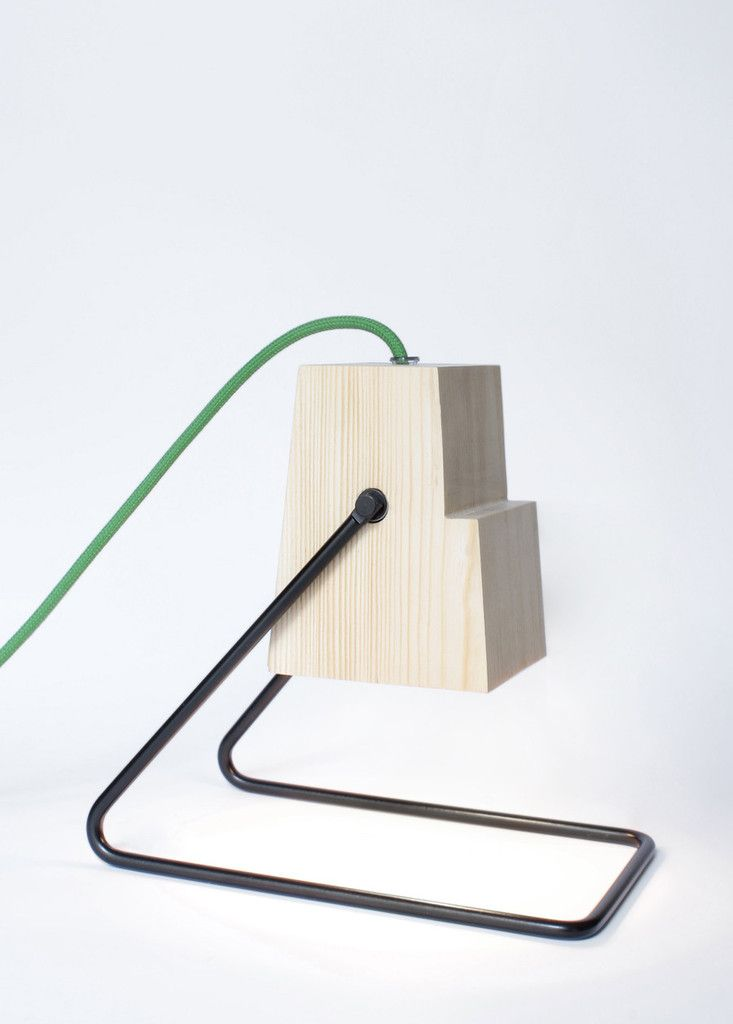 Table lamp by Magdalena Chojnacka, industrial designer (Bongo Design Studio) based in Cracow, Poland.