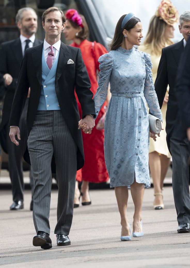 pippa middleton looked stunning in this kate spade dress at the