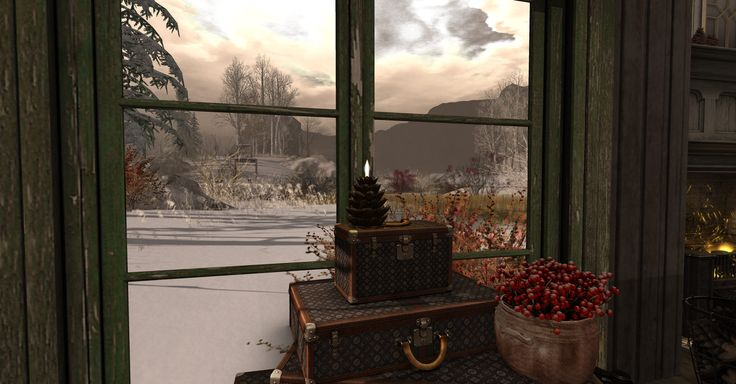 https://flic.kr/p/Pc9Xk3 | A Room With A View | Winter Trace  maps.secondlife.com/secondlife/Springfield%20Wood/23/202/21