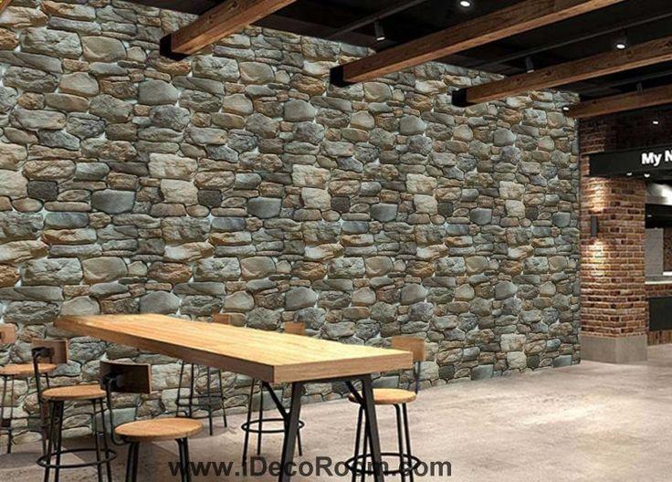 430 best Business Wall murals images on Pinterest - graue wand und stein