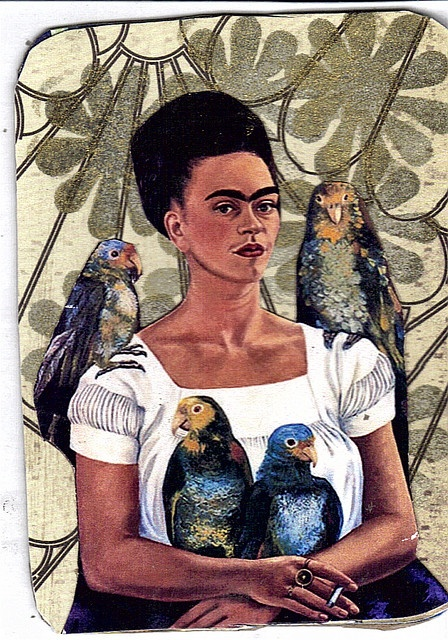Frida Kahlo is my favorite artist. Her story is one that more people should know, and her art is heartbreaking and beautiful all rolled into one.