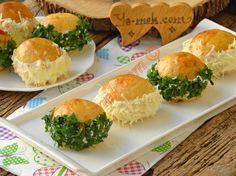 Pastane Usulü Sakallı Poğaça Resimli Tarifi - Yemek Tarifleri