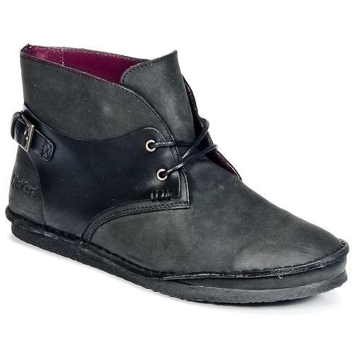 Sapatos Mulher Botas baixas Kickers MYSTIMIX Preto
