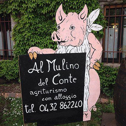 Agriturismo Al Mulino Del Conte Via di Coz, 1 – 33030 Cisterna di Coseano (UD) Tel. 0432 862240 – Fax 0432.862935