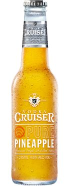 Vodka Cruiser Pure Pineapple 275mL