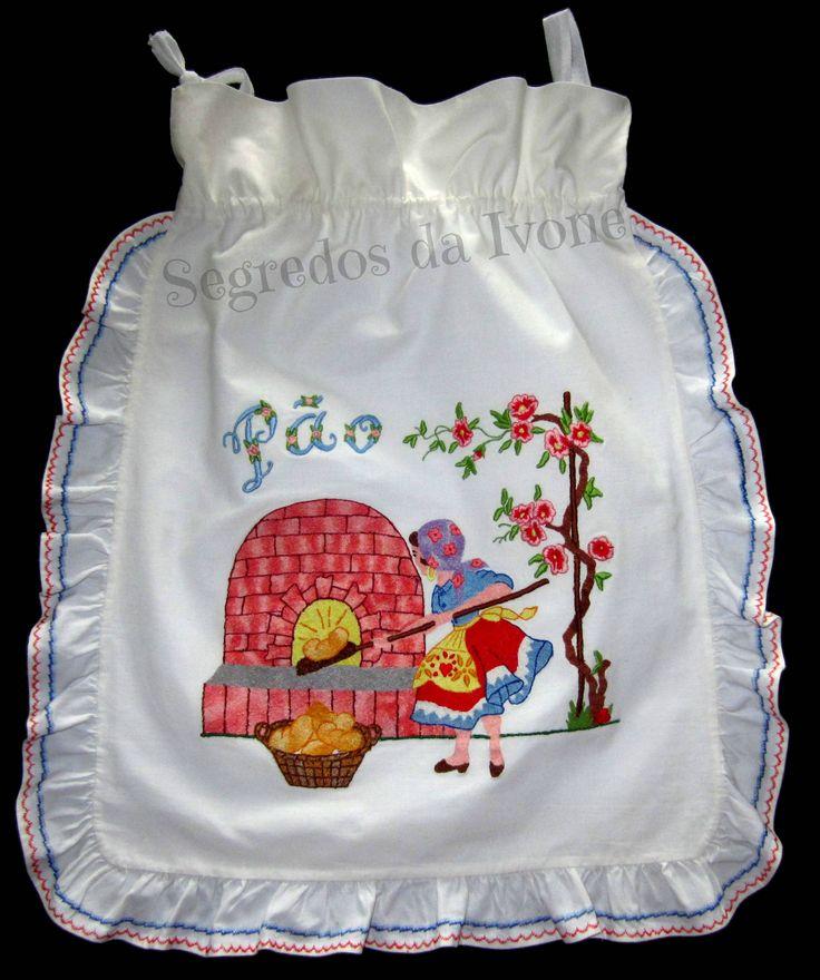 AC3- Confecção e bordado à máquina em saco do pão