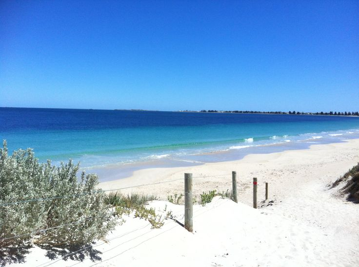 Rockingham... Western Australia... Beach