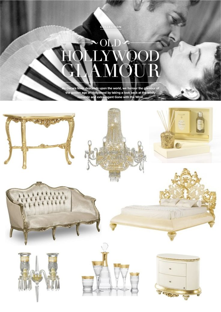 54 best Old Hollywood bedroom ideas images on Pinterest