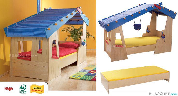 lit cabane la case de tom haba muebles pinterest children furniture and beds. Black Bedroom Furniture Sets. Home Design Ideas
