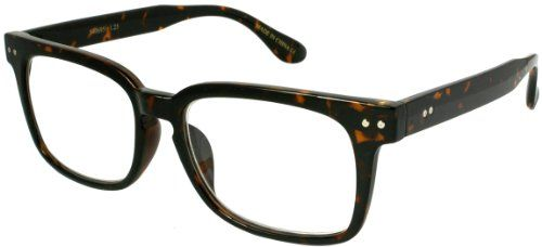 80's Wayfarer reading glasses TORTOISESHELL w/ +125 Power Lens. Variation Attributes: Size-1.25. Color: TORTOISESHELL. Arm Length: 135mm. Free Micro-Fiber Pouch Included with Each Pair. Lens Width: 53mm. Lightweight. High Contrasting Colors and Plush Designs. Polycarbonate Lens and Optically Correct.