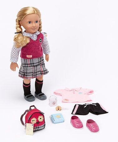 Look what I found on #zulily! Hally Deluxe Doll Set by Our Generation #zulilyfinds  $29 set