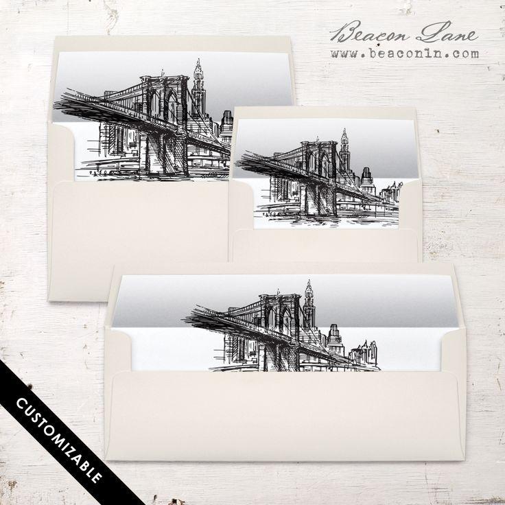 Best 25+ Envelope liners ideas on Pinterest Wedding envelope - sample envelope liner template