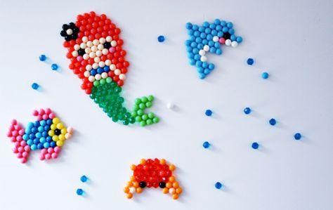 Aquabeads perles modèle sirène crabe dauphin perle à eau