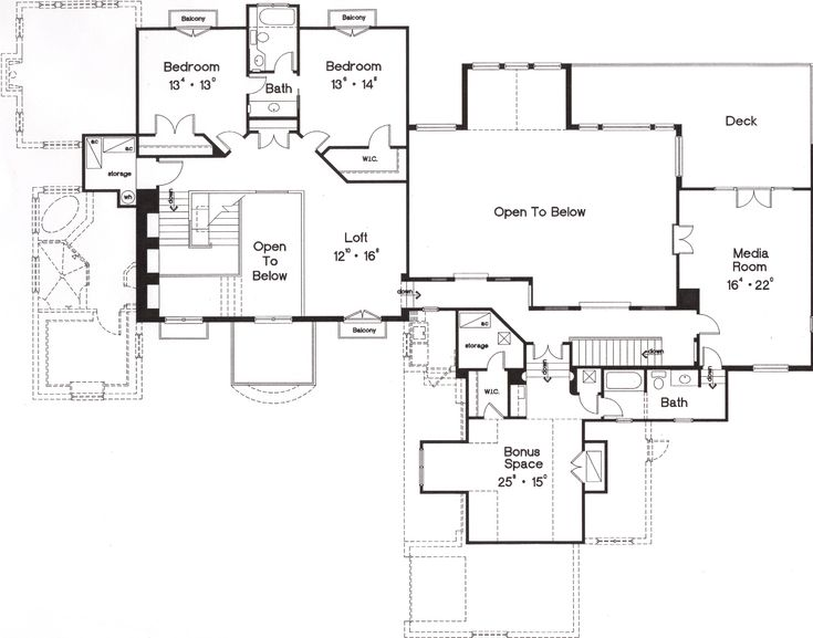 38 best french country floor plans layout images on for French country house plans open floor plan