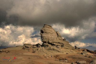 The Sphinx, The Carpathian Mountains. Discover the hidden valleys of the Carpathian Mountains, their peaks, and gorgeous views. #Romania, #travel #tour #toursofromania #Sphinx #Bucegi #Carpathian #mountains #hiking