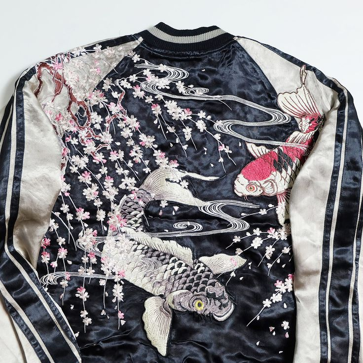 49 best images about bomber jackets on pinterest for Koi for sale houston