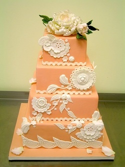 wedding cake peach color 226 best weddings in images on 23394