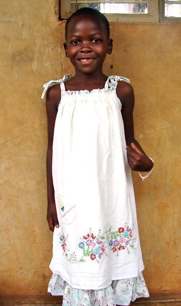 Link for information to donate sewn pillowcase dresses to girls in