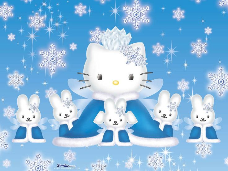 Snow queen kitty