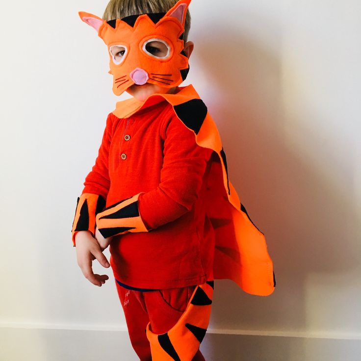 Excited to share the latest addition to my #etsy shop: Kids Tiger Costume, Adult Tiger Costume, Tiger Mask, Tiger Tail, Tiger Who Came to Tea Costume, World Book Day Tiger Outfit Robins Bobbins