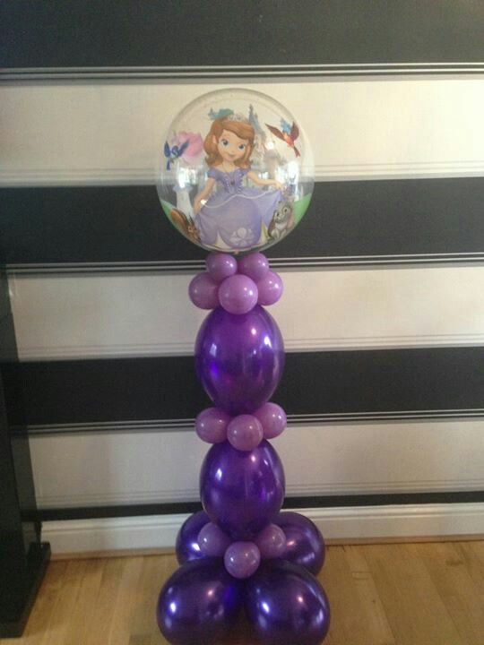 Sofia the first balloon tower xx