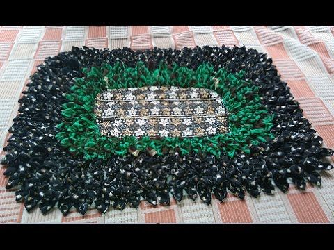 how to make a beautiful doormat from waste cloths like sari DIY Video Download MP4 3GP FLV - YiFlix.Com