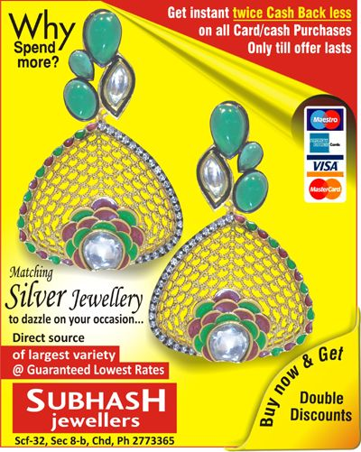 True friends are like diamonds – bright, beautiful, valuable, and always in style- Subhash Jewellers