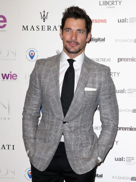 David Gandy Suits Up And Hits The Red Carpet For The LDNY  Foundation Gala - I really like when his jacket and pants don't match. Whenever people try to do it in real life, it looks silly, but somehow on David it's like the height of fashion. So, that's why he's a professional model, huh? Also, I'm pretty sure that David is reusing the jacket he wore here, except without the vest underneath. Right?  Oh, and if you need any tips on smelling good, David is here for that, too. Because of course…