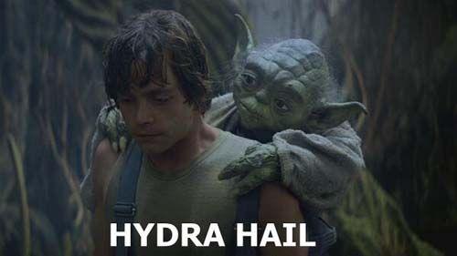 hail hydra meme yoda