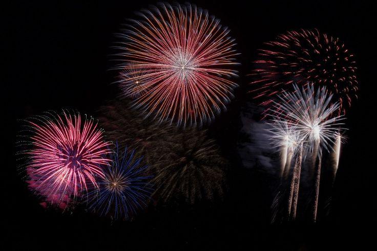 Feuerwerk Hochzeit