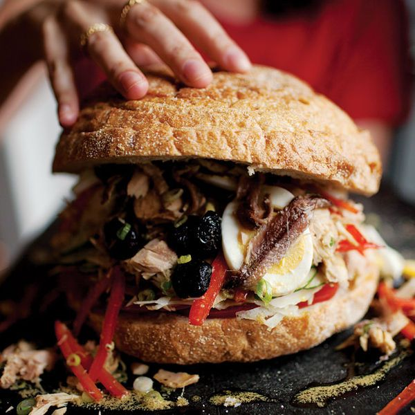 Provençal Tuna Sandwich (Pan Bagnat)
