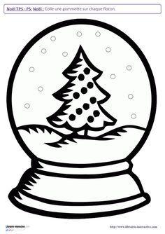 10 activités sur le thème de Noël pour les TPS et les PS (graphisme, discrimination visuelle, organisation de l'espace, algorithmes...)