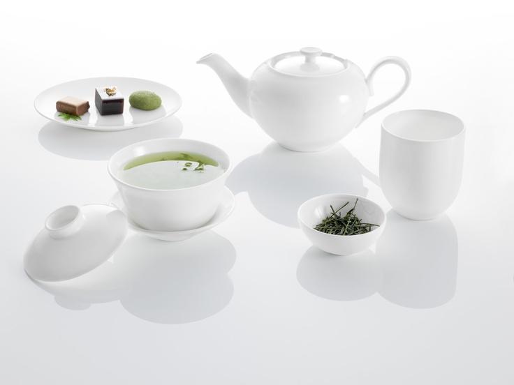 Zelený čaj, lehký dezert, žádný stres, jen relaxace a zapojení všech smylů...