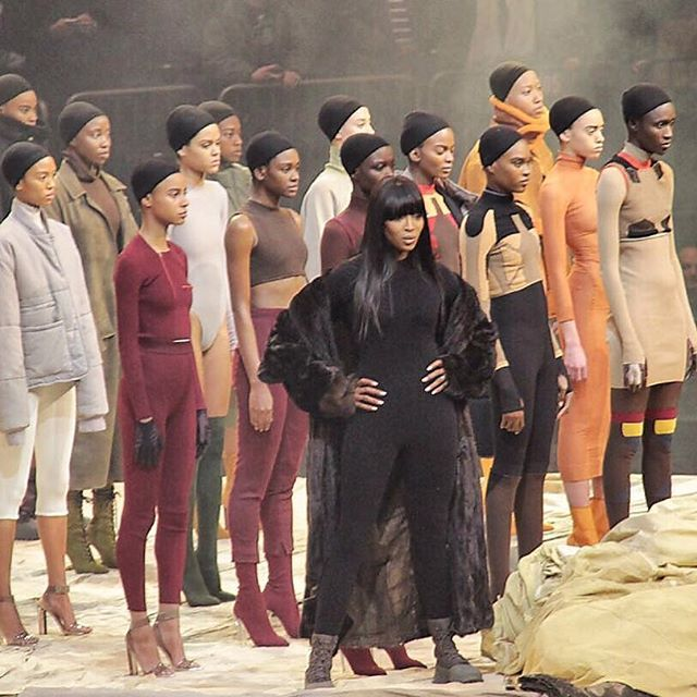 Pin for Later: The 13 Highlights From Kanye West's Yeezy Show You Just Can't Miss As Was.... Naomi Campbell