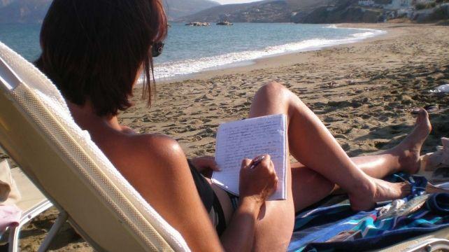 Write under the Greek Sun | Writing Holiday, Discover Skyros, a well kept Greek Secret | Combadi #writing #skyros #greekislands