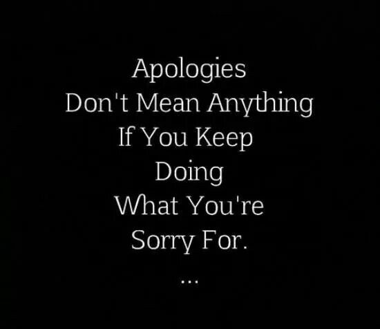 That is when you have to stand up and remember they do the same thing over and over again,  BECAUSE THEY CAN!  You teach people how to treat you!! They eithor treat me with the same respect, integrity, loyalty, and honesty that I treat them or they HAVE TO kick rocks. I make the rules for MY LIFE!  I will never allow dysfunction, disrespect, dishonesty and distrust!!!!!! If that happens .....I DISengage. by rebecca2