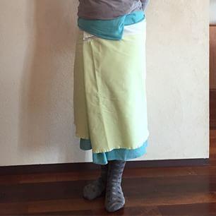 下から 重ねサロン+百草×PLAIN PEOPLE 明るい色が着たくなりました。 #百草サロン