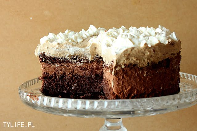 ice cream mexican chocolate ice cream cake with orange meringue ...