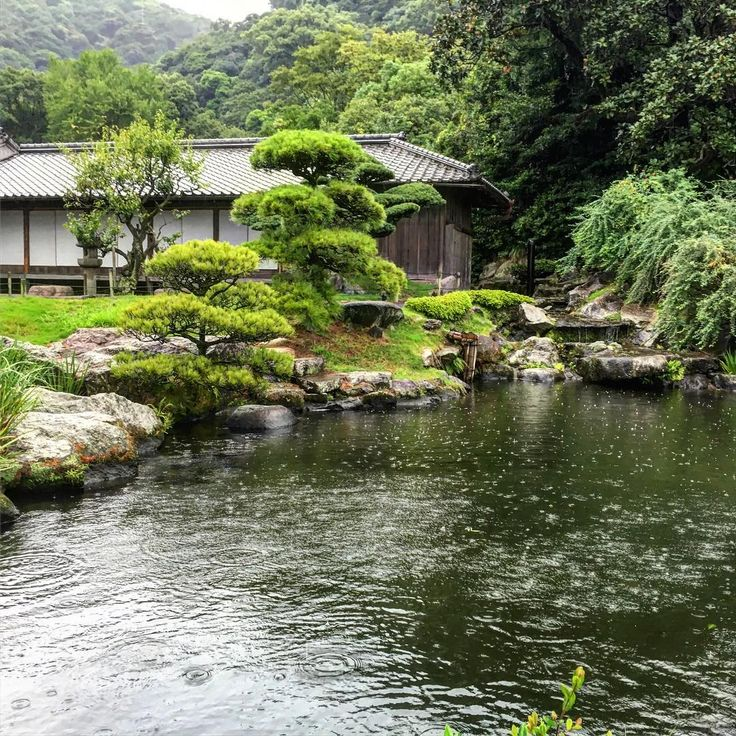 348 best garden niwaki pruning images on pinterest for Zen garden waterfall
