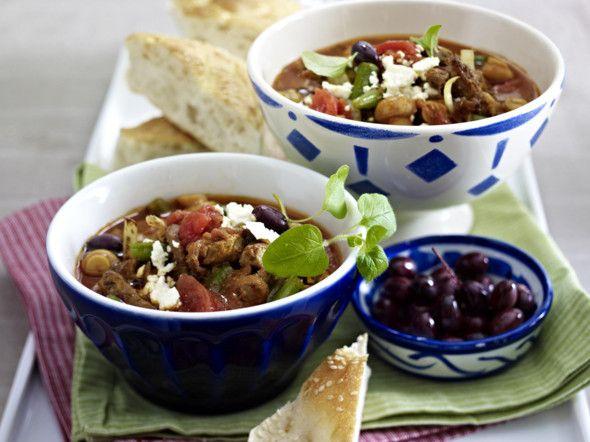 Gyros-Tomaten-Suppe Rezept