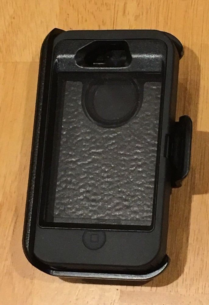 save off 36c96 580dd Otterbox Def 6930 cell phone case with clip, black Otter Box ...