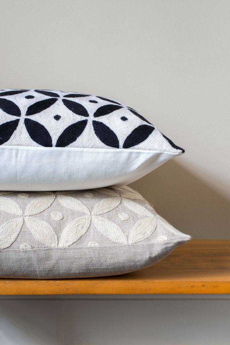 The Seville Cushion is inspired by the traditional tiles found in the Spanish town.