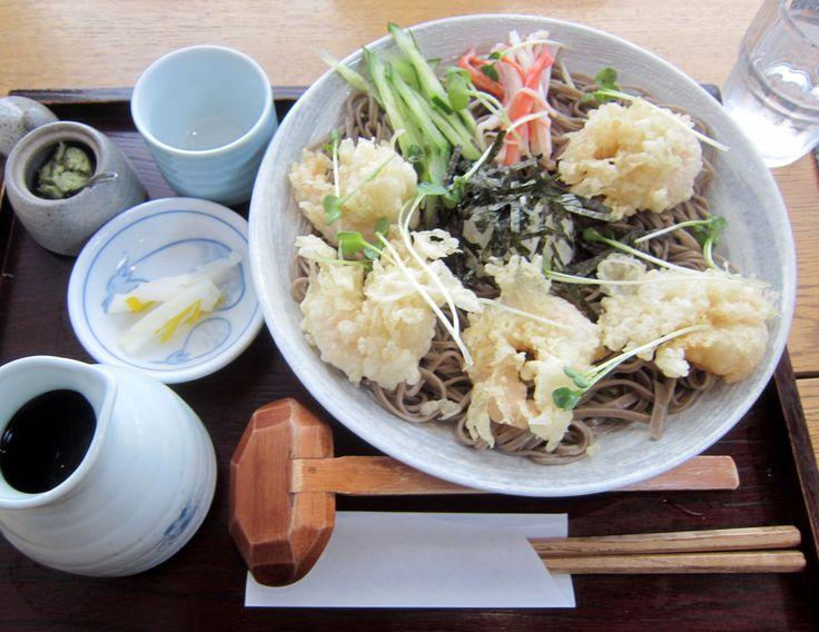 #Soba #Shrimp-tempura #Cold-soba #Noodles #KITTKAWA #Sapporo #Japan #蕎麦 #えびおろしそば #手打ち蕎麦 #札幌 #きっ川  #새우튀김 #메밀  😊